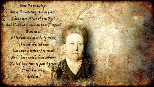 an analysis of the poem a decade by amy lowell Browse through amy lowell's poems and quotes 200 poems of amy lowell still i rise, the road not taken, if you forget me, dreams, annabel lee an american poet of the imagist school from brookline, massachusetts who posthumously won the pulit  decade when you came,.