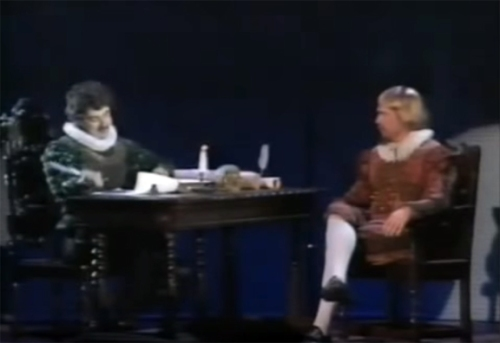 Rowan Atkinson & Hugh Laurie - Shakespeare and Hamlet