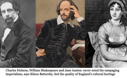 Shakespeare, Dickens, Wren, Austen