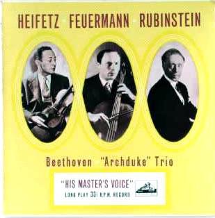 While Hearing the Archduke Trio