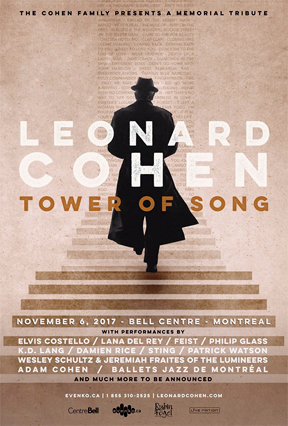 Leonard Cohen's last book