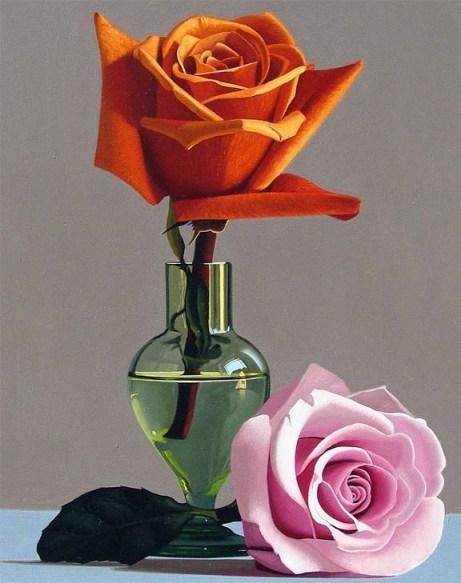 Chiaroscuro Rose