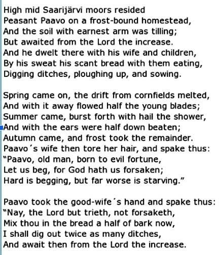 Johan Ludvig Runeberg-text