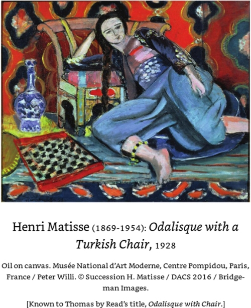 Odalisque with a Chair