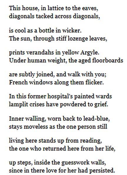 Through the Lattice Door-text