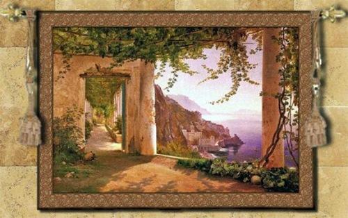 Old Paintings On Italian Walls